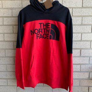 THE NORTH FACE Drew Peak Red Black Hoodie